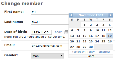 24980 (Calendar selector for DateField defaults to wrong date when